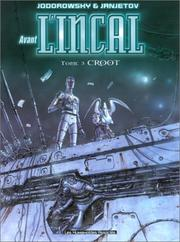Cover of: Avant l'Incal, tome 3: Croot