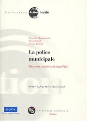 Cover of: La police municipale
