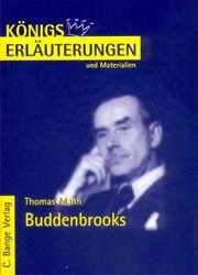Cover of: Die Buddenbrooks