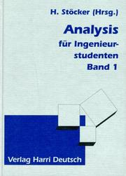 Cover of: Analysis für Ingenieurstudenten, 2 Bde., Bd.1