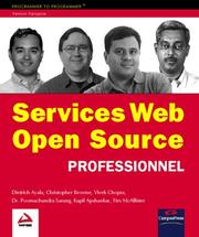 Cover of: Services Web Open Source