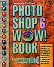 Cover of: Photoshop 6 Wow ! Book (avec CD-Rom)