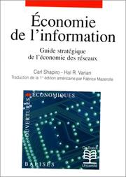 Cover of: Economie de l'information