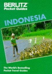 Cover of: Indonesia Pocket Guide (Berlitz Country Guide)