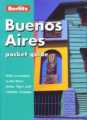 Cover of: Buenos Aires Pocket Guide