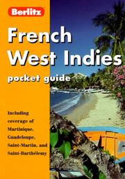 Cover of: Berlitz French West Indies (Berlitz Pocket Guides)