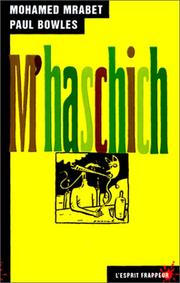 Cover of: M'haschich