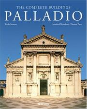 Cover of: Palladio - the Complete Buildings