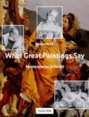 Cover of: What Great Paintings Say