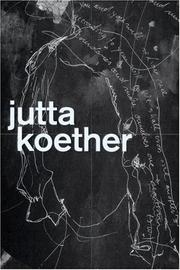 Cover of: Jutta Koether