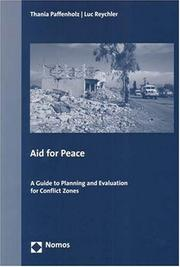 Cover of: Aid for Peace