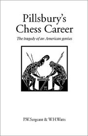 Cover of: Pillsbury's Chess Career (Hardinge Simpole Chess Classics)