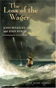 Cover of: The Loss of the Wager
