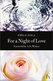 Cover of: For a night of love