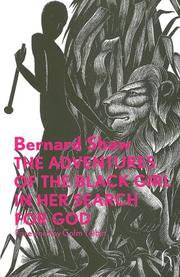 Cover of: The adventures of the black girl in her search for God