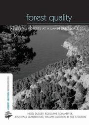 Cover of: Forest Quality