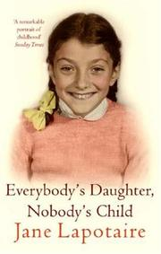 Cover of: Everybody's Daughter, Nobody's Child