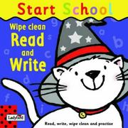Cover of: Wipe-Clean Read and Write (Start School)