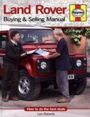 Cover of: Land Rover Buying and Selling Manual