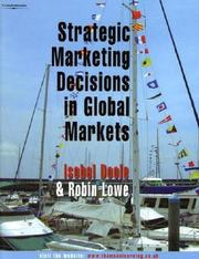 Cover of: Strategic Marketing Decisions In Global Markets