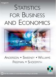 Cover of: Statistics for Business and Economics