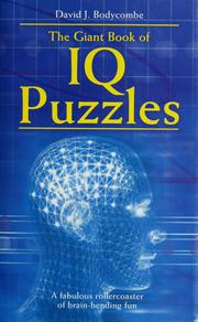 Cover of: Giant Book of IQ Puzzles