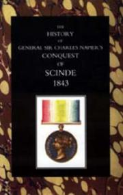 Cover of: History of General Sir Charles Napier's Conquest of Scinde