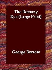 Cover of: The Romany Rye (Large Print)