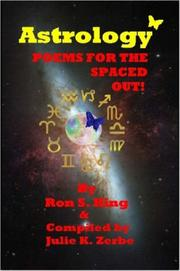 Cover of: ASTROLOGY 'SPACED OUT' POEMS