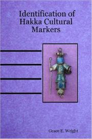 Cover of: Identification of Hakka Cultural Markers
