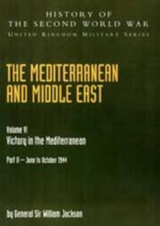 Cover of: Mediterranean and Middle East