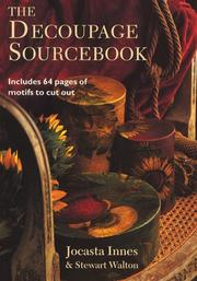 Cover of: The Decoupage Source Book
