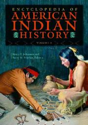 Cover of: Encyclopedia of American Indian history