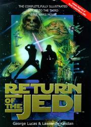 Cover of: Return of the Jedi (Illustrated Filmscript)