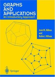 Cover of: Graphs and Applications: An Introductory Approach (with CD-ROM)