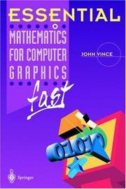 Cover of: Essential Mathematics for Computer Graphics Fast