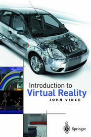 Cover of: Introduction to Virtual Reality