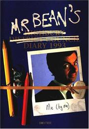 Cover of: Mr. Bean's Diary