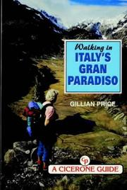 Cover of: Walking in Italy's Gran Paradiso (Walking Overseas)