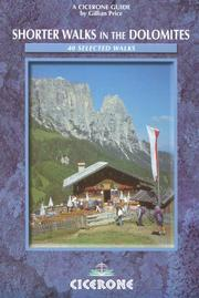 Cover of: Shorter Walks in the Dolomites