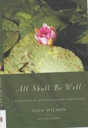 Cover of: All Shall Be Well