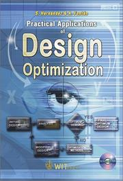 Cover of: Practical Applications of Design Optimization (High Performance Structures and Materials)