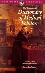 Cover of: Dictionary of Medical Folklore (Wordsworth Reference)