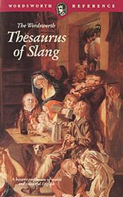 Cover of: Thesaurus of Slang (Wordsworth Collection)