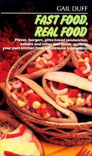 Cover of: Fast Food, Real Food