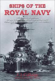 Cover of: Ships of the Royal Navy