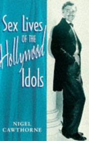 Cover of: Sex Lives of the Hollywood Idols (Sex Lives)