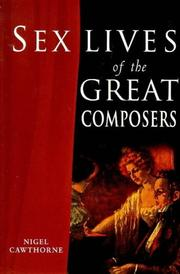 Cover of: Sex Lives of the Great Composers