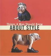 Cover of: Things a Man Should Know About Style
