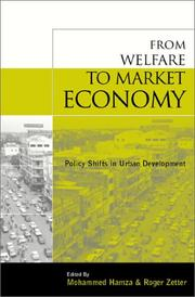 Cover of: Market economy and urban change